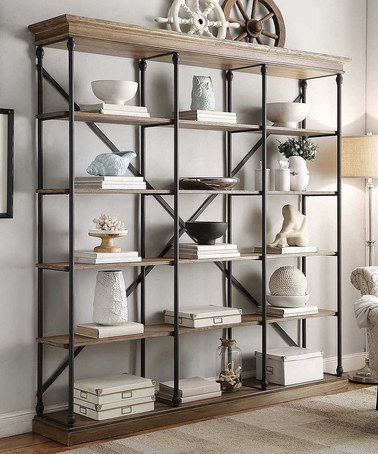 Another great find on #zulily! Ardmore Wide Bookcase by HomeBelle #zulilyfinds