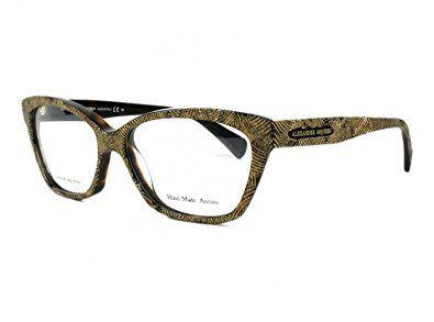ac0b185d960 Alexander McQueen 4268 Eyeglasses Color 0OFN 00 Review
