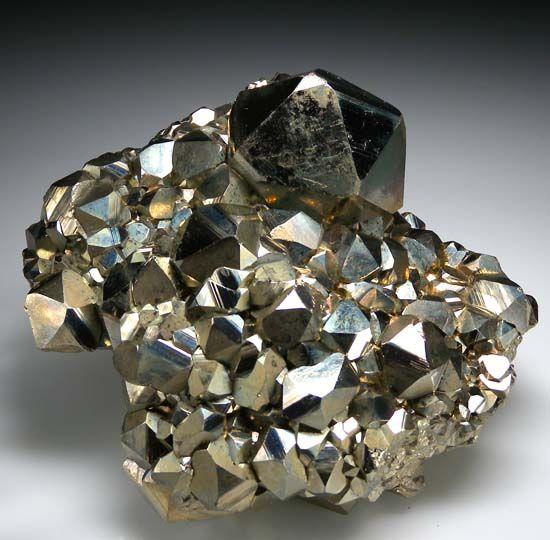 Pyrite from Huanzala Mine, Peru