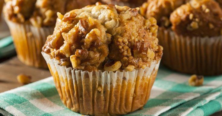 Des morceaux de bananes...des noix...du yogourt ! Et vous réaliserez un succulent muffin.