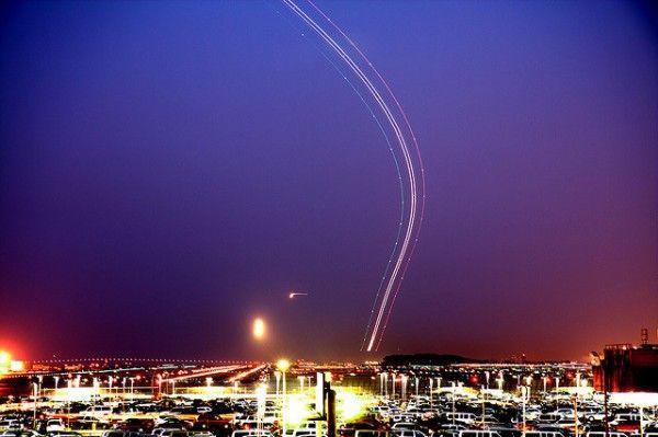 Long Exposure Air Traffic night long exposure documentary airplanes