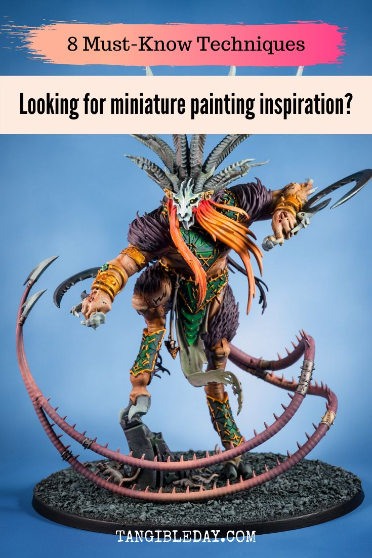 how to paint miniatures step by step