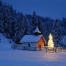 O Holy Night -- I love the Winter nights when it's snowing very softly, creating a blanket of white; & you can actually hear the tinkling of the snow crystals as they settle onto the others that came before. Sooo beautiful... <3<3<3