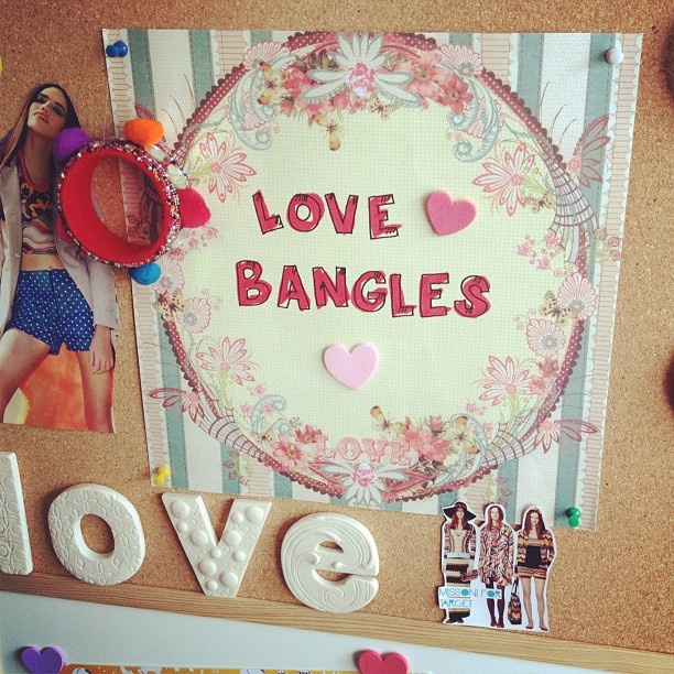 Love Bangles for yesterday's Spring Wipe Out @Diana Rikasari
