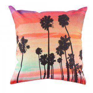Sunsets Silhouette Cushion