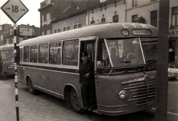 Begin zestiger jaren, LTM-bus richting Meezenbroek