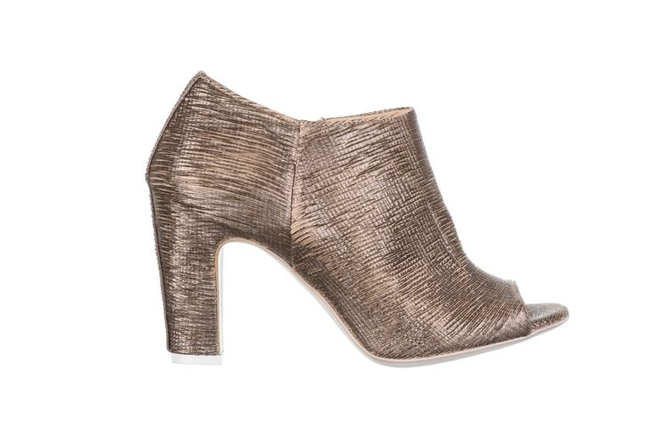 gold ankle boots - fiorifrancesi