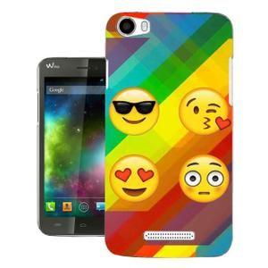 Wiko Lenny 2 Protecteur Coque Gel Silicone protection Case Coque 002319 - Collage Emoji Smiley Faces Fun - Achat coque - bumper pas cher, avis et meilleur prix - Cdiscount