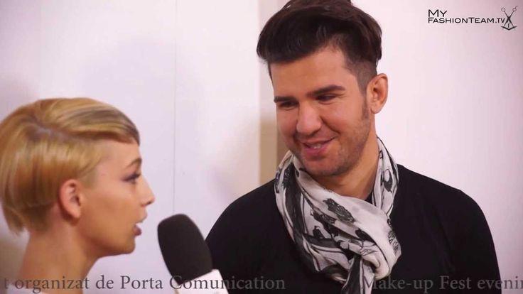 Interviu Sorin Stratulat la Make-up Fest 2013