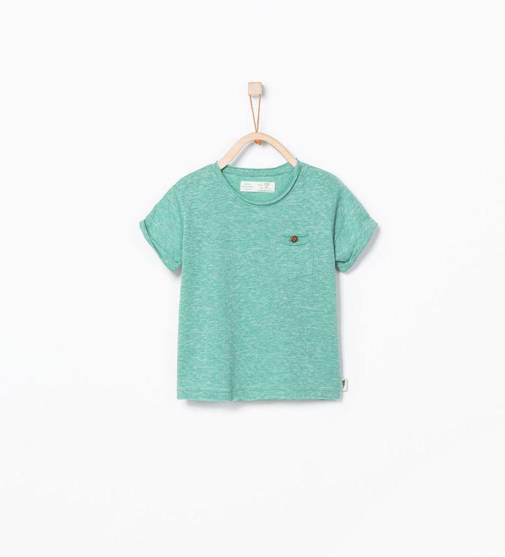 ZARA - CRIANÇAS - T-shirt com bolso