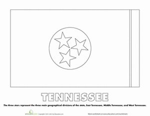 76 best images about government on pinterest tennessee for Tennessee state flag coloring page