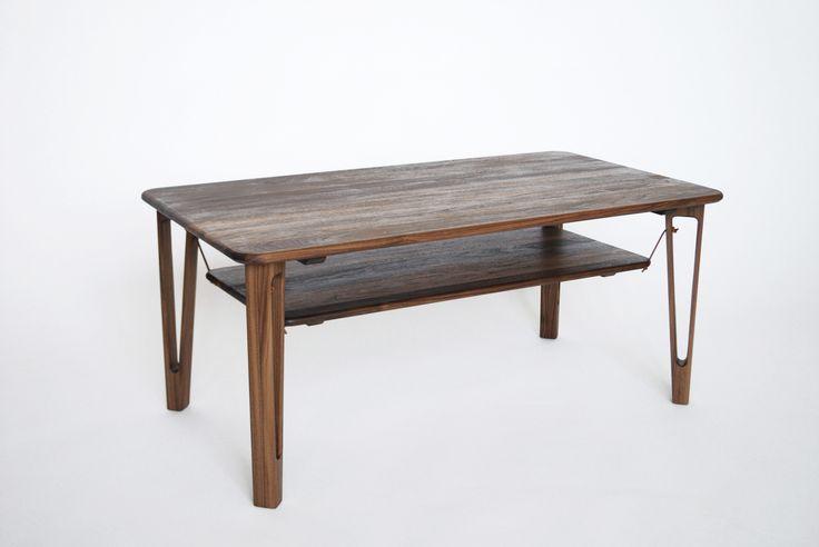 Tavolino, 1100x600mm, walnut