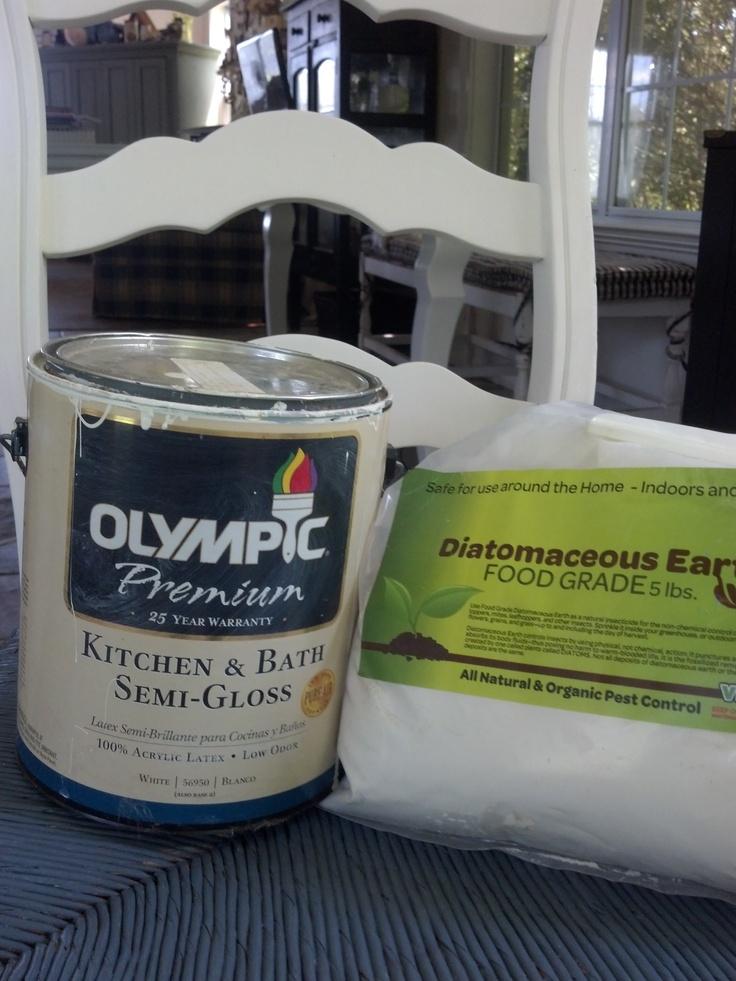Diatomaceous Earth Chalk Paint Recipe