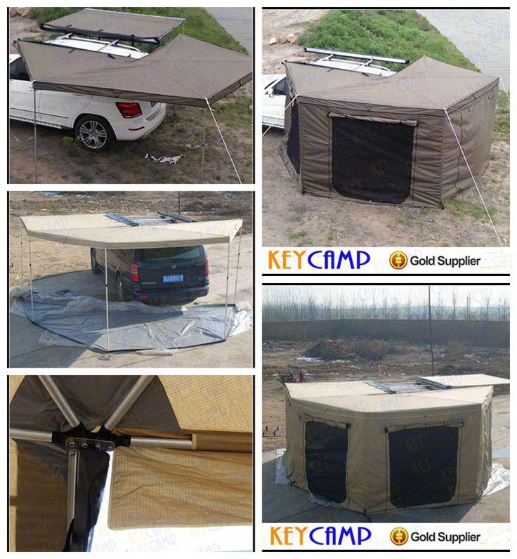 4 x 4 acessório de raposa asa toldo / toldo camping para carros / praia sombra para quebra-vento