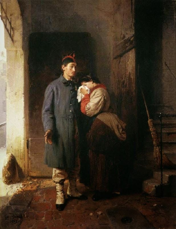 Η αναχώρηση κληρωτού (1870)