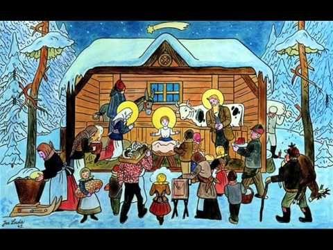 Vánoční KOLEDY - 11 ČESKÝCH KOLED - Půjdem spolu do Betléma... - YouTube