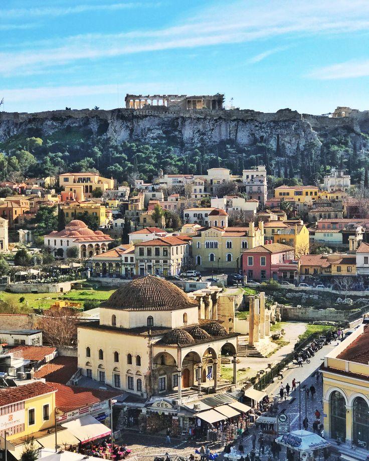 Athens city, monastiraki square!