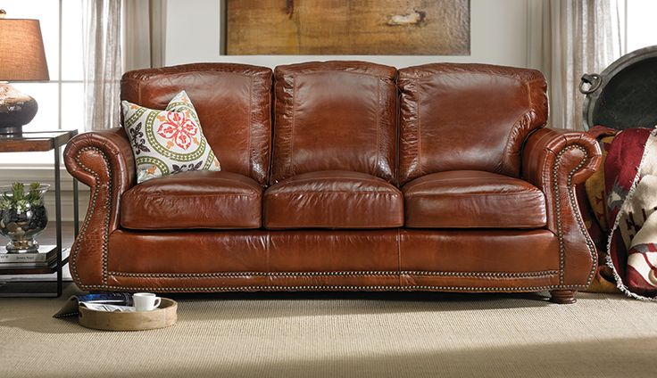 By The Rocky Mountain Leather Company Now Featured At Haynes. #leather  #handmade #rockymountainleather #haynes #sofa #brown #interiordesign |  Pinterest ...