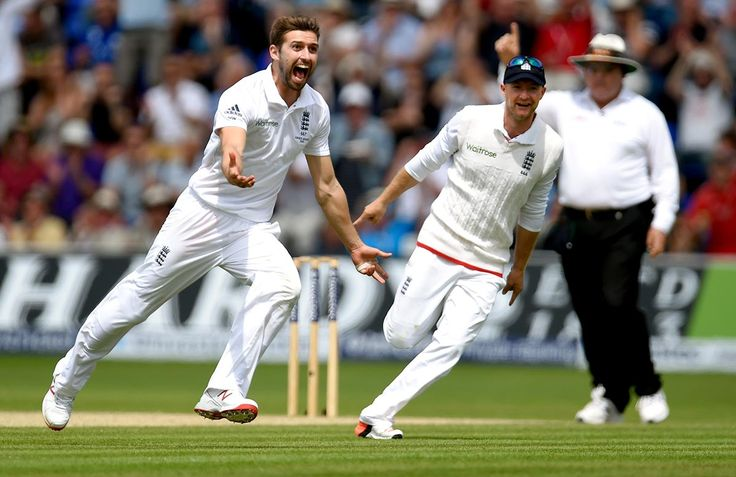 """""""An over later, the unfolding calamity became a full-scale catastrophe as Adam Voges pushed needlessly at Wood and the England fielders skipped a jig not unlike that which accompanied the famous Edgbaston win of a decade earlier."""""""