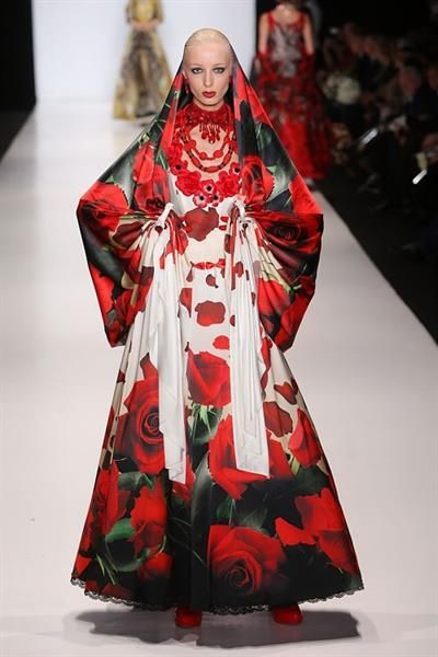 Национальный костюм русского народа в современной моде