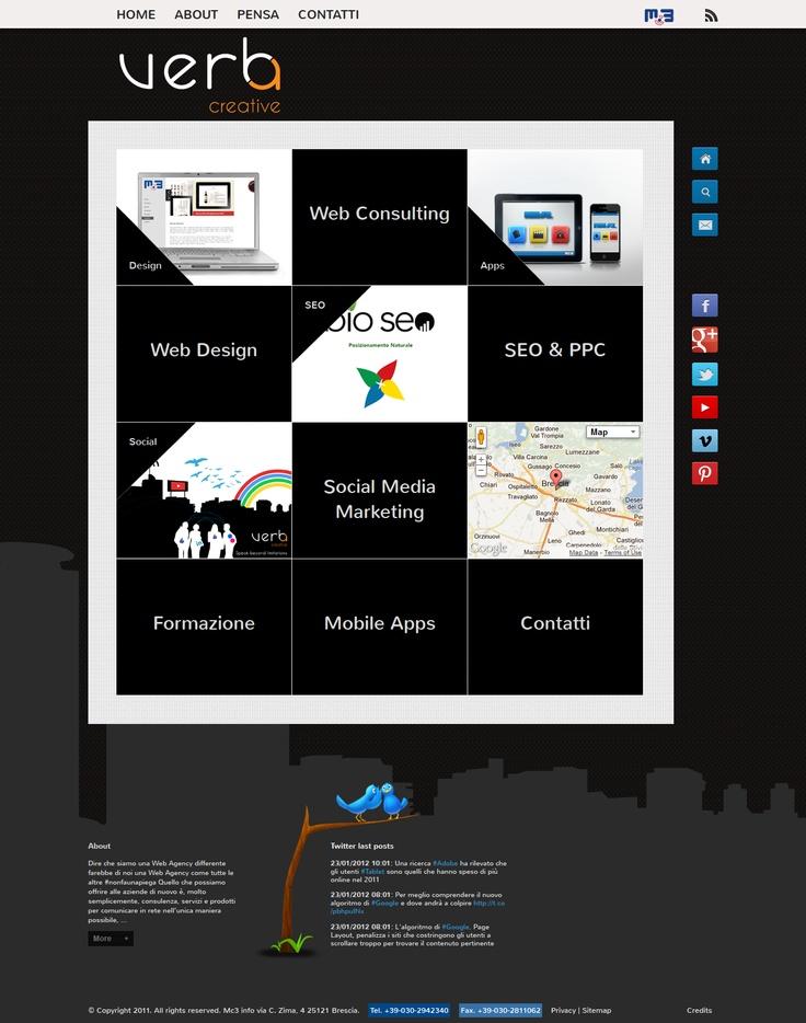 Homepage Verba Creative
