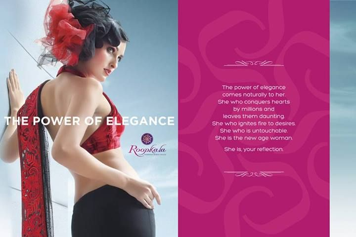Elegance comes as much from the mind as from the eye.