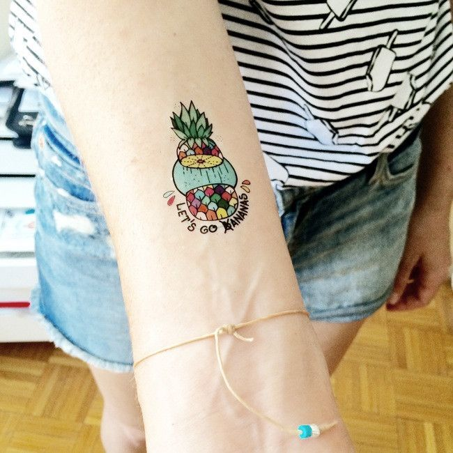 Bananas - Set of 2 – TATZ temporary designer tattoo