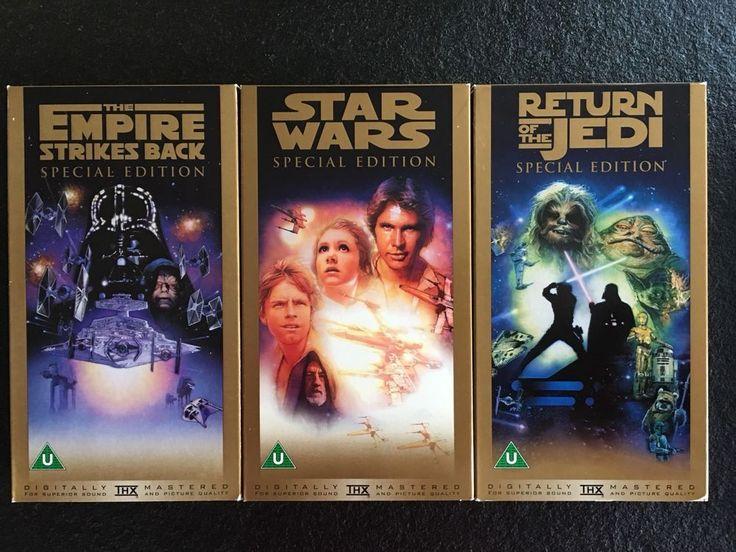 Star Wars Original Trilogy Special Edition VHS 1997 Empire Return Jedi   DVDs, Films & TV, VHS Tapes   eBay!