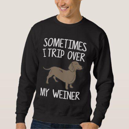 Funny Dachshund Shirt. Gift From Kids. Sweatshirt - kids kid child gift idea diy personalize design