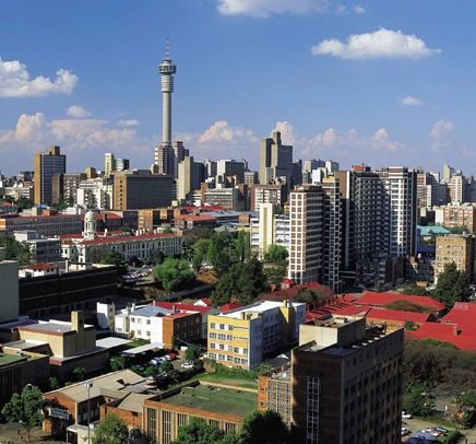 Johannesburg, South Africa. Flew into Jo'burg, and then drove right away to Swaziland. I really want to drive around Z.A. for a month or two.