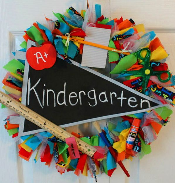 Back to School DIY Wreaths