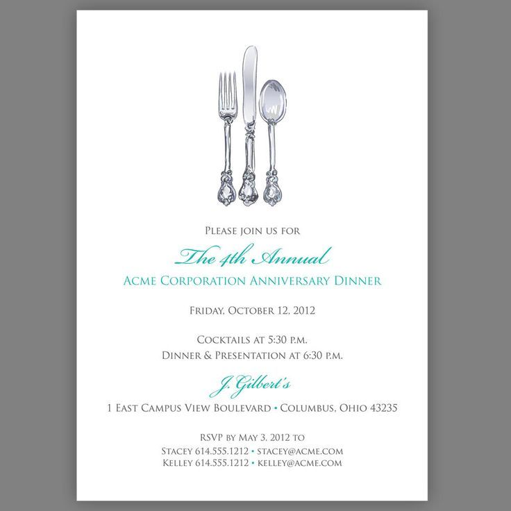14 best Invites images on Pinterest Invites, Invitation wording - dinner party invitation sample