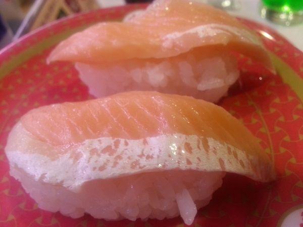 Nigiri Sytle Sushi - not fattening