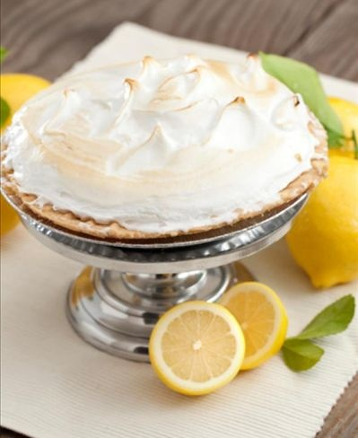 Torta de limão com ricota - Foto: Getty ImagesLemon Meringue Pie