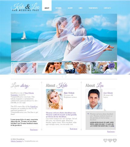 Best 20+ Wedding website templates ideas on Pinterest