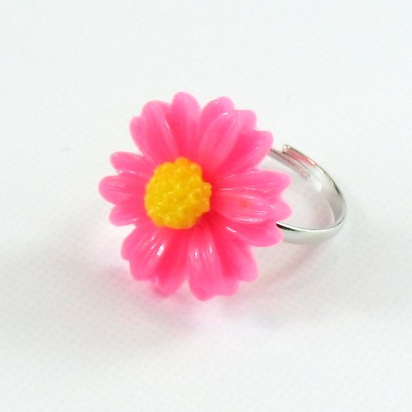 Anello Margherita Fucsia only by Daffodil BIjoux