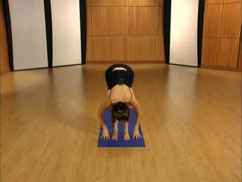 Yoga for Dummies: Sun Salute part 1 -- This is probably my favorite yoga workout. She does a great job going through the exercises as well. Once you get the hang of it you can whiz right through it.
