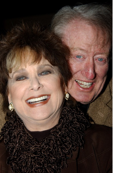 Suzanne Pleshette with hubby Tom Poston, I thought it was so sweet they got together & married.
