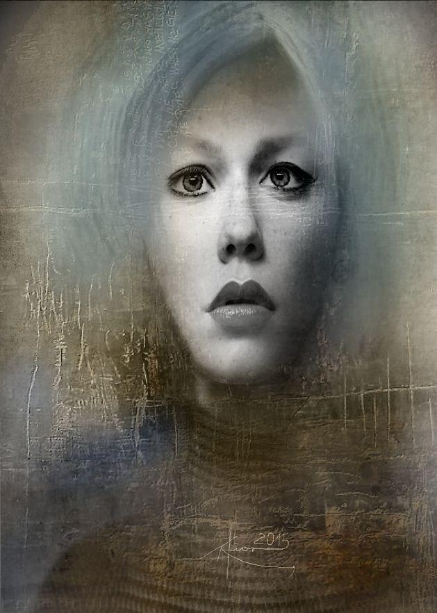 """""""Stan świadomości"""" Portrait Maria Fior"""