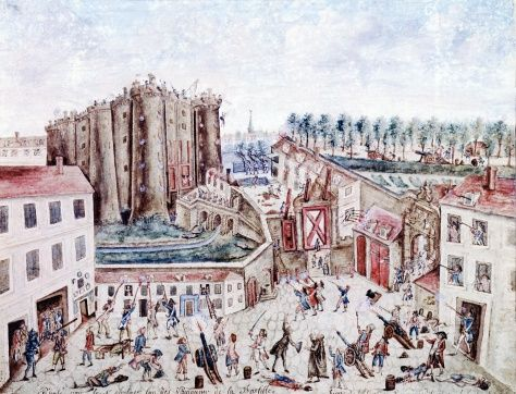 Storming of Bastille, July 14, 1789, French Revolution, France    Getty Images