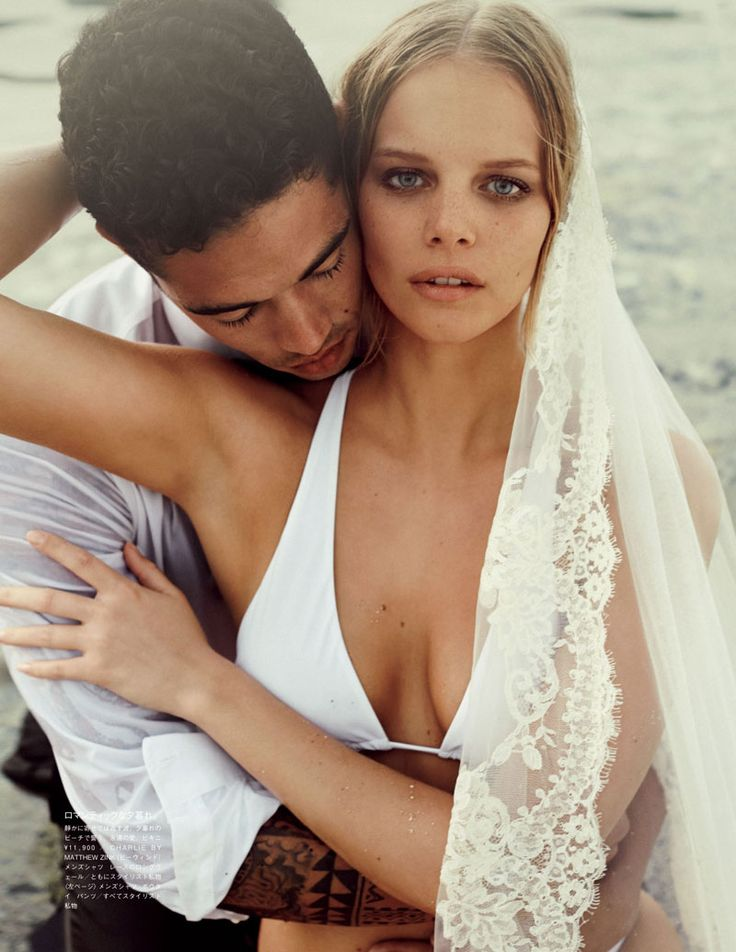 Marloes Horst Plays a Blushing Bride for Vogue Japan Wedding Special | Fashion Gone Rogue: The Latest in Editorials and Campaigns