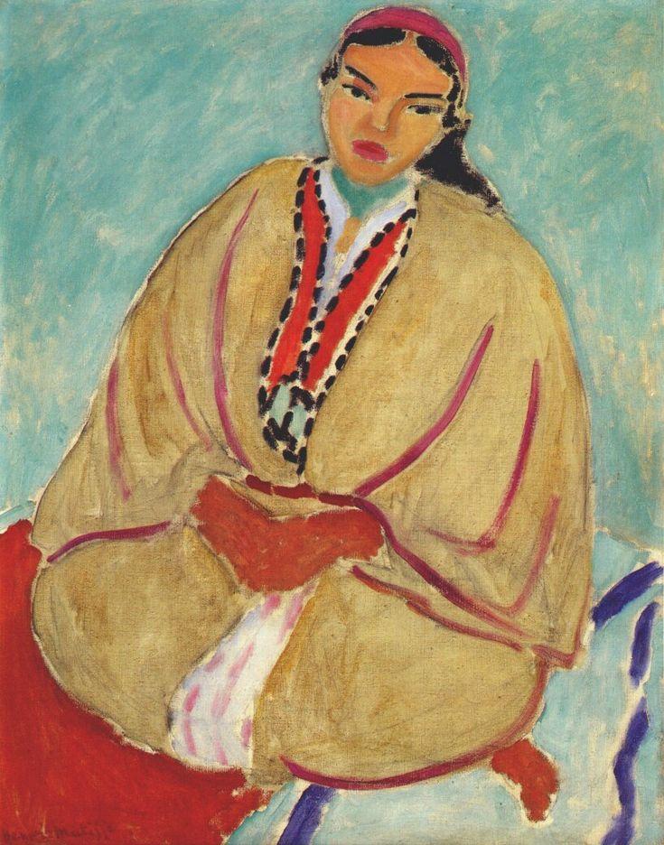 Zorah in Yellow by Henri Matisse, 1912 #matisse