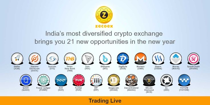 India's most diversified crypto exchange brings you 21 new opportunities for wealth creation. Please visit www.zecoex.com