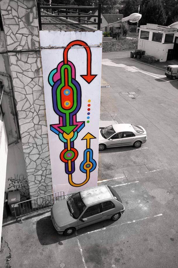 Rayon Gamma – Street Art by Seize Happywallmaker