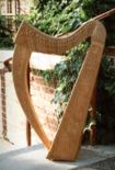 Stony End harps -- at Hobgoblin music store and folk music venue in Red Wing