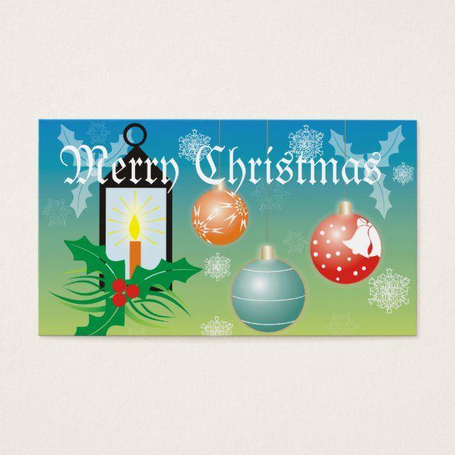 Christmas Balls Gft Tag Business Card Holy Light Snow Christmas Gift Merry Christmas Gift Tags Business Christmas Cards Christmas Gift Tags