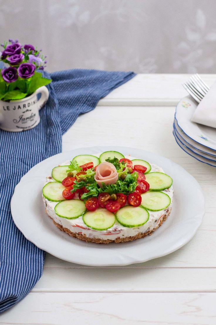 cheese-cake salata v
