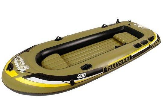 Bateau Gonflable Fishman 400 SET - 4 adultes a prix reduit - LeKingStore