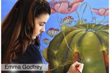 EXHIBITION by Emma Godfrey from Sunday 5 October to Sunday 19 October 2014.