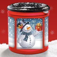 plastic coffee can crafts | Extreme Couponing Mommy: FREE Folgers Canister Craft Design Idea